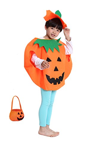 Gamlon Halloween Pumpkin Party Costume for kids Size Standard