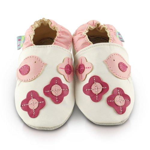 Snuggle Feet Babyschuhe Leder weich - Vogel