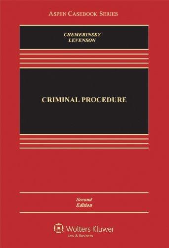 Download By Erwin Chemerinsky - Criminal Procedure (Aspen Casebooks) (2nd Edition) (7.1.2013) pdf epub