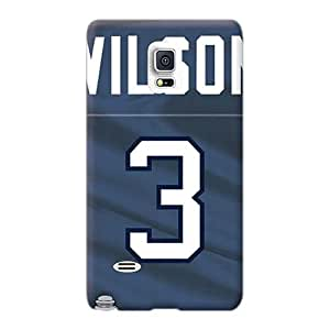 AshtonWells Samsung Galaxy Note 4 Excellent Hard Cell-phone Case Unique Design Colorful Seattle Seahawks Pictures [pFo7622KcvN]
