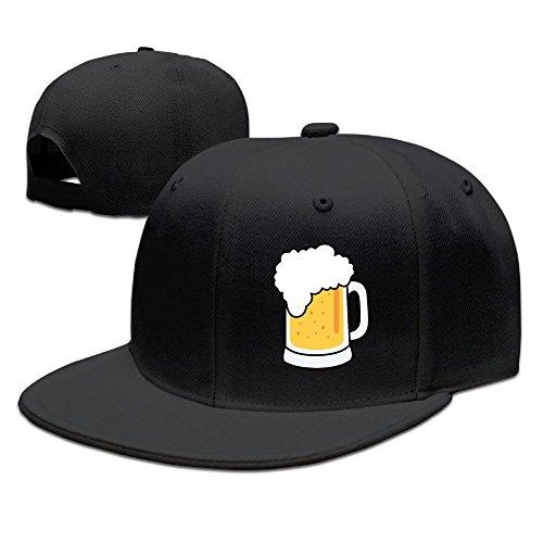 xssyz-i-love-beer-flat-bill-snapback-baseball-cap-black