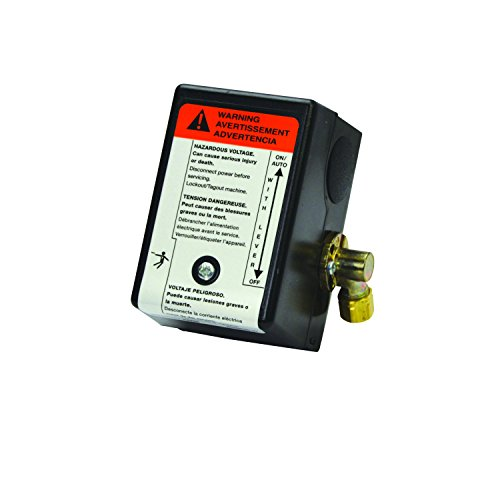 Ingersoll Rand 23474661 Pressure Switch for Single Stage Compressor SS3 And (Ingersoll Rand Compressor Parts)