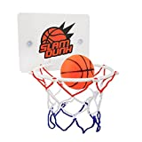 Eunicom Slam Dunk Bedroom Bathroom Toilet Office Desktop Mini Basketball Decompress Game Gadget Toy Home Decor for Kid Education and Basketball Lovers
