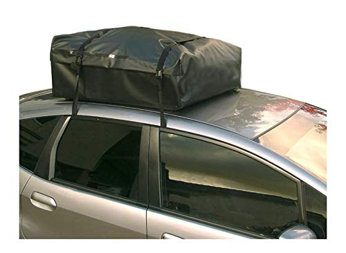 Oileus Universal Car Roof Bag, Truck Roof Carrier with Slip-Prevent Latex Protector Pad and Storage Bag Heavy Duty, Works with All Vihicles, No Rack Bars Required, No Damage