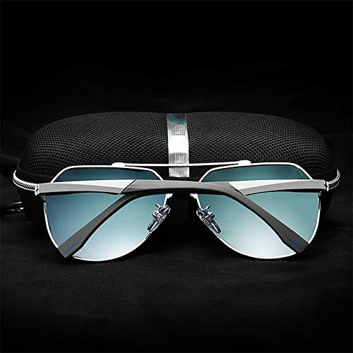 Black Polarizado WFFH Conducción De Gafas Al De Libre Sol Blue Aire Unisex Metal Gafas Deportes gq7g6Xrwn