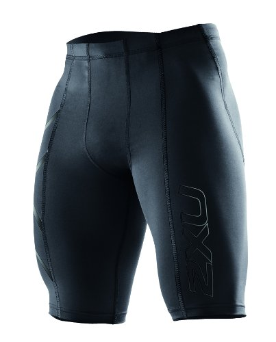 2XU Herren Hose Compression Shorts, Black/Nero, S, MA1931b