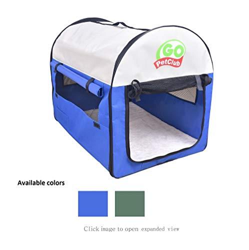 Go Pet Club CK-24 Foldable Pet Crate by Go Pet Club