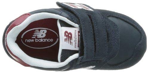 New Balance Kv574 M (Infant - Zapatillas de Deporte de material sintético Infantil negro - Noir (Bni Black/Red)