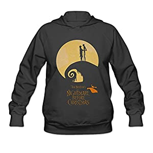 AK79 Women's Hoodie The Nightmare Before Christmas Size M Black