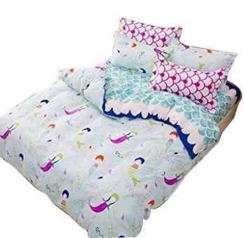 Little Girls Queen Size Bedding Sets.Amazon Com Little Mermaid Bedding Set Queen Size Sheets