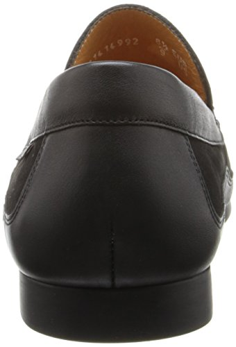 Men's Calf Black Loafer Slip Mephisto Nubuck on Baduard SqwBxv4P