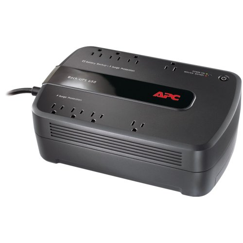 APC BE650G1 Back-UPS 650 8-Outlet 650VA System electronic co