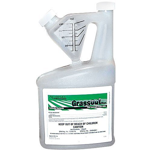 Grass Out Max Liquid Herbicide - Active Ingredient Clethodim 25.4% - 1 Pint