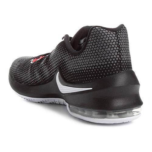 Basketball Air Low Pour Fonc Noir De Chaussures Infuriate Nike Gris Homme Blanc Max Crimson Total nCFw1