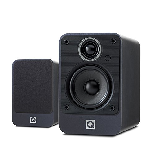 Q Acoustics 2010i Bookshelf Speakers (Pair) (Graphite) by Q Acoustics
