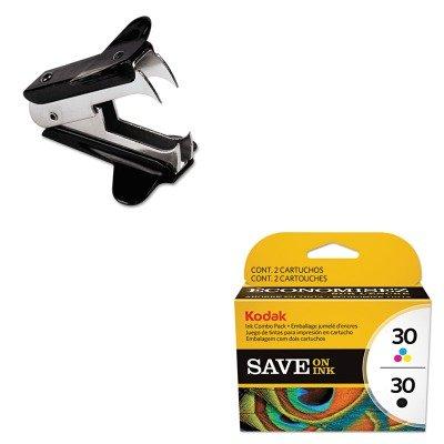 KITKOD8781098UNV00700 - Value Kit - Kodak 2880674 Color Combo 30 Ink (KOD8781098) and Universal Jaw Style Staple Remover (UNV00700)