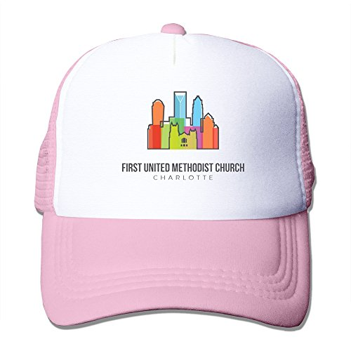 Charlotte Cap Wool (LKSJSADJ First United Methodist Church - Charlotte Adjustable Hats Pink)