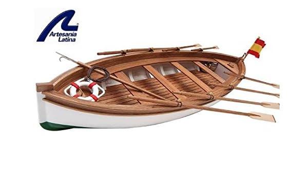 Maqueta de Barco en Madera: Bote Salvavidas Juan Sesbastián ...