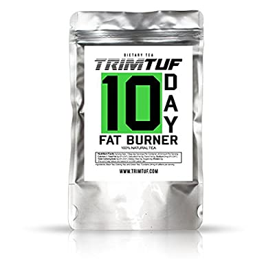 TRIMTUF 10 Day Fat Burner Tea