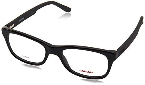 Carrera 6653 Eyeglass Frames CA6653-0KUN-5418 - Black / Matte Black Frame, Lens Diameter 54mm,