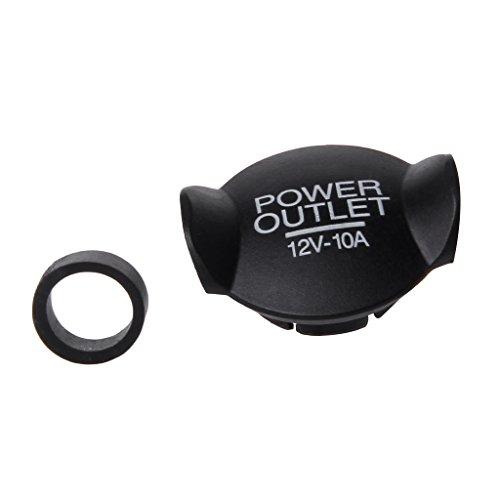 (Xumeili Universal Auto Car 21mm 22mm 12V Power Socket Lighter Cigarette Outlet Cover Cap)