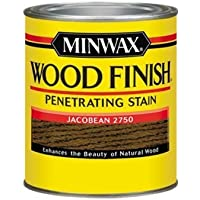Minwax 70014 1 Quart Wood Finish Interior Wood Stain, Jacobean by Minwax