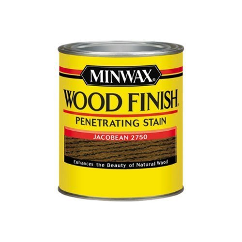 Minwax 70014 1 Quart Wood Finish Interior Wood Stain, Jacobean by ()