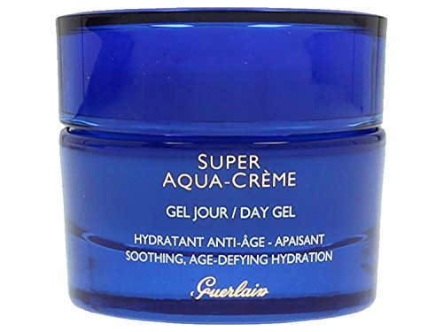 - Guerlain Super Aqua Creme Soothing Age-Defying Hydration Day Gel, 1.6 Ounce