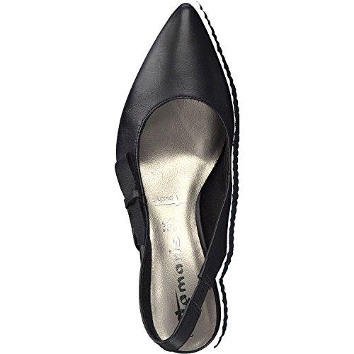 20 29608 Noir Mode Tamaris Femme 1 Sandales xFqOZAw