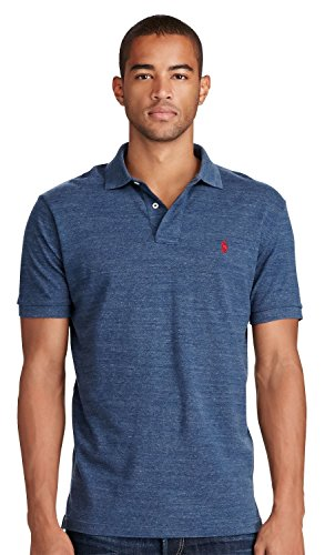 Polo+Ralph+Lauren+Mens+Classic+Fit+Mesh+Pony+Shirt-Classic+Royal+Heather-X-Large