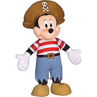 Mickey Mouse Decoration Nursery or Bedroom Giant 2 Feet Tall Pirate Costume Girls Boys -