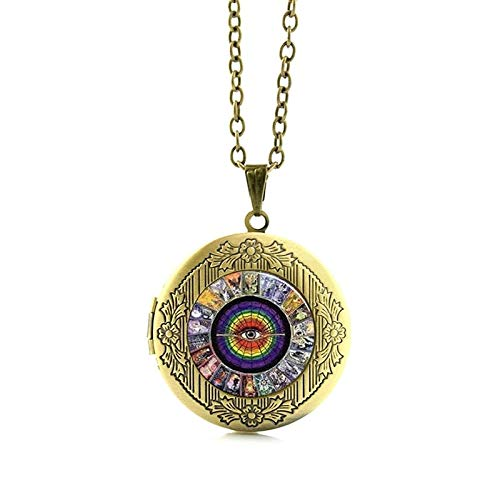 Pendant Necklaces - Wholesale Charms Tarot Card Pendant Necklace Band Jewelry Steampunk Clock Gears Art Photo Glass Cabochon Locket Jewelry N483 - by Mct12-1 PCs -