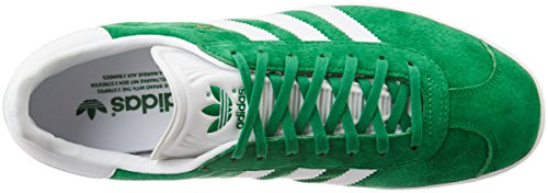 White Met Green Gazelle adidas Gold Unisex Low Top Erwachsene Grün zqfpf0w4