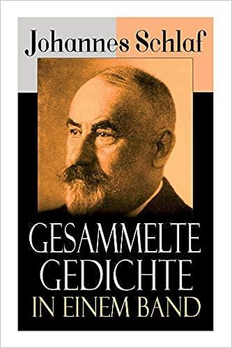 Gesammelte Gedichte In Einem Band German Edition Johannes