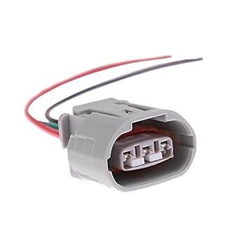 41QvF0RareL._SY355_ amazon com alternator plug harness regulator pigtail 3 wire for