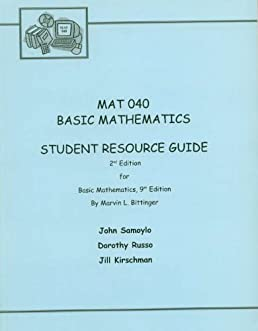 mat 040 basic mathematics custom edition for delaware county rh amazon com paying for college student resource guide 2017 How Parents Pay for College