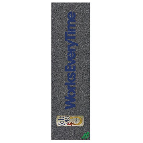 MOB 9x33 Colt 45 Works Every Time Skateboard Grip Tape by mob
