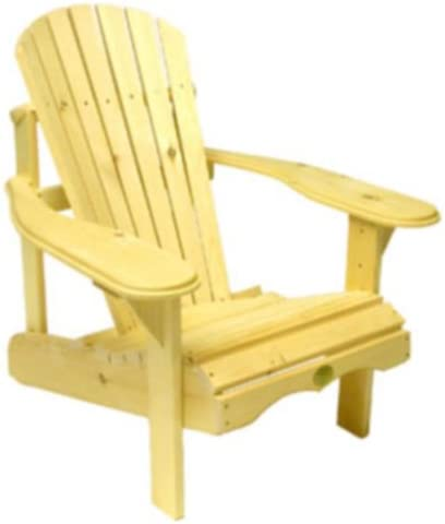 Bc201p Bear Chair – Pine Adirondack Chair Kit – Unassembled