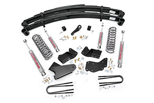Rough Country - 440.20 - 4-inch Suspension Lift System w/ Premium N2.0 Shocks for Ford: 91-94 Explorer (Explorer 4wd)