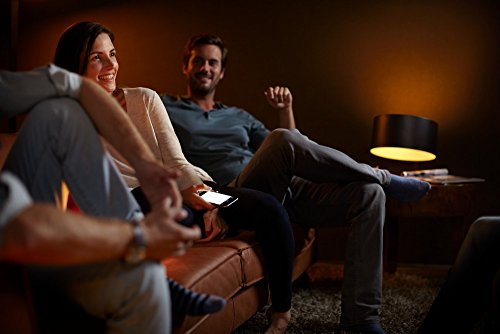 Philips Hue White A19 60W Equivalent Starter Kit, Works with Amazon Alexa