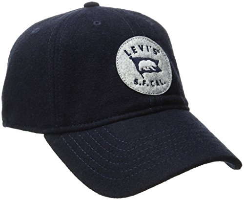 Levi's Men's Curved Brim Baseball Cap, Navy, One Size