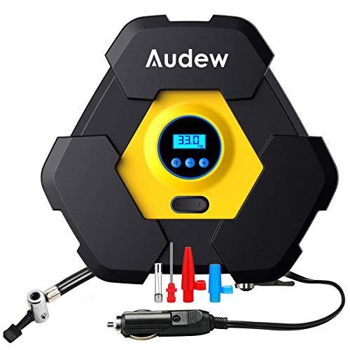 Audew Portable Air Compressor Pump, Auto Digital Tire Inflat