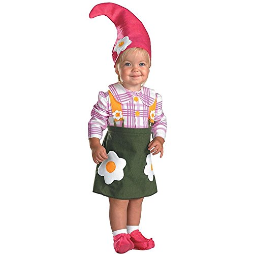 Flower Garden Gnome Toddler Costume - Baby 12-18