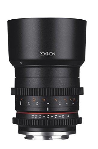 Rokinon CV50M-MFT 50mm T1.3 Compact High Speed Cine Lens for Micro Four Thirds, Black