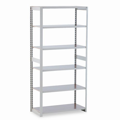Tennsco RGL1836ASD 36 by 18 by 76-Inch Regal Shelving Add-On Unit with 6 Shelves, Sand