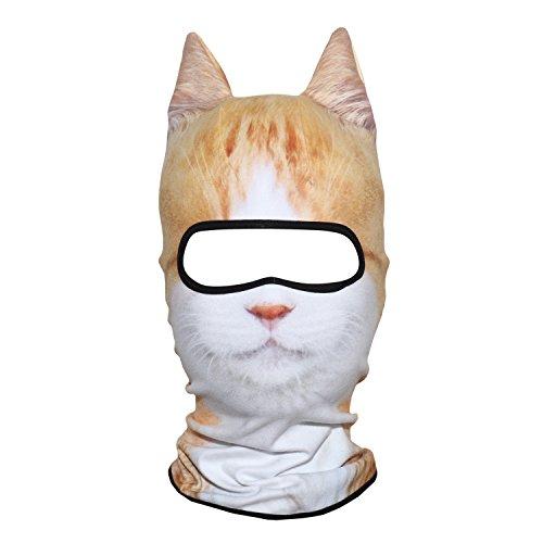 Cat Ears Costumes Pattern - AXBXCX 3D Animal Ears Fleece Thermal