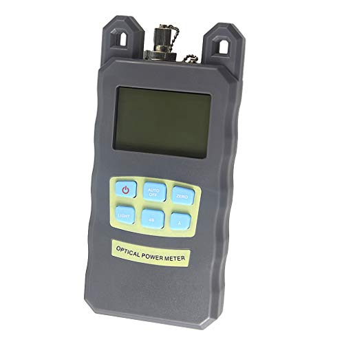 SM SunniMix DXP-20B -70dBm~+10dBm 850~1625nm Optical Power Meter Tester FC SC Handheld Optical Power Meter + with 10mW Visual Fault Locator Pen by SM SunniMix (Image #5)