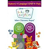 Baby Einstein: Numbers & Language (4-Disc): Baby Noah / Baby Wordsworth / Numbers Nursery / Baby's Favorite Places Image