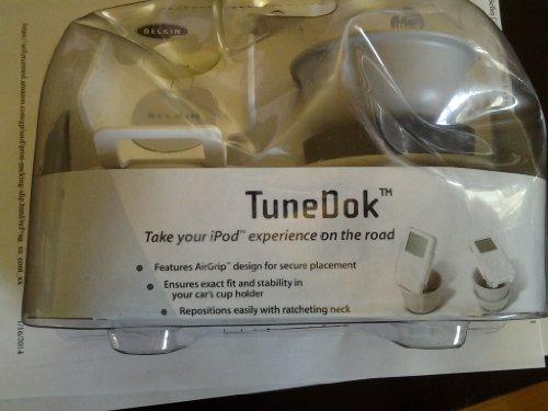 Belkin TuneDok Car Holder for iPod, Plastic, 9w x 3-1/2d x 7