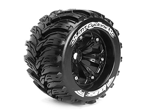 Mt Tires Truck Monster (LOUISE MT-CYCLONE 1/8 Scale Traxxas Style Bead 3.8